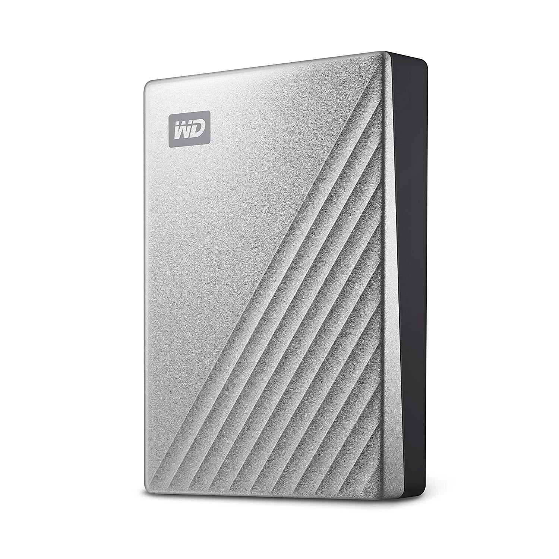 Hard Disk Extern Western Digital My Passport ULTRA 2TB USB-C Silver