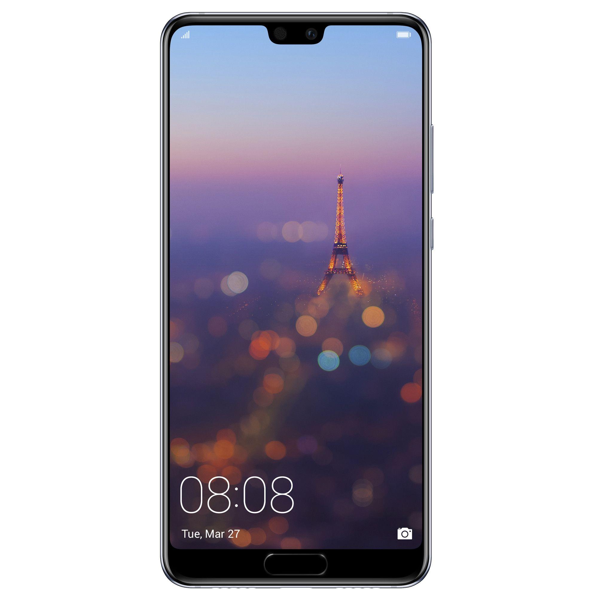 Telefon Mobil Huawei P20 128GB Flash 4GB RAM Dual SIM 4G Midnight Blue
