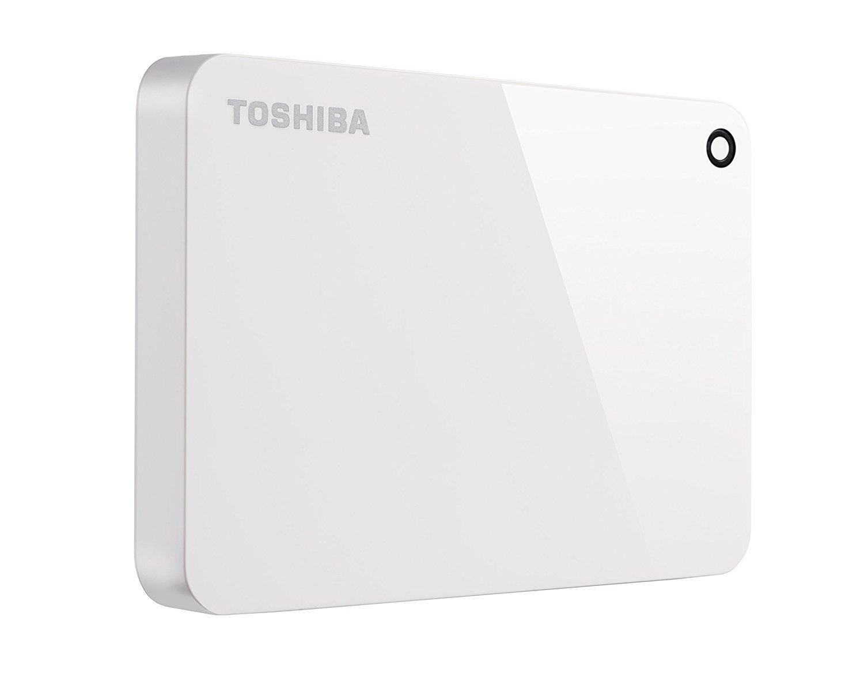Hard Disk Extern Toshiba Canvio Advance 2TB USB 3.0 White
