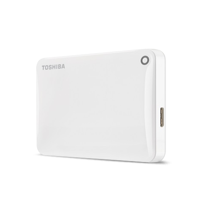 Hard Disk Extern Toshiba Canvio Connect II 500GB USB 3.0 White
