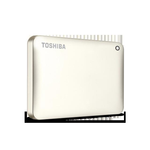 Hard Disk Extern Toshiba Canvio Connect II 500GB USB 3.0 Satin Gold