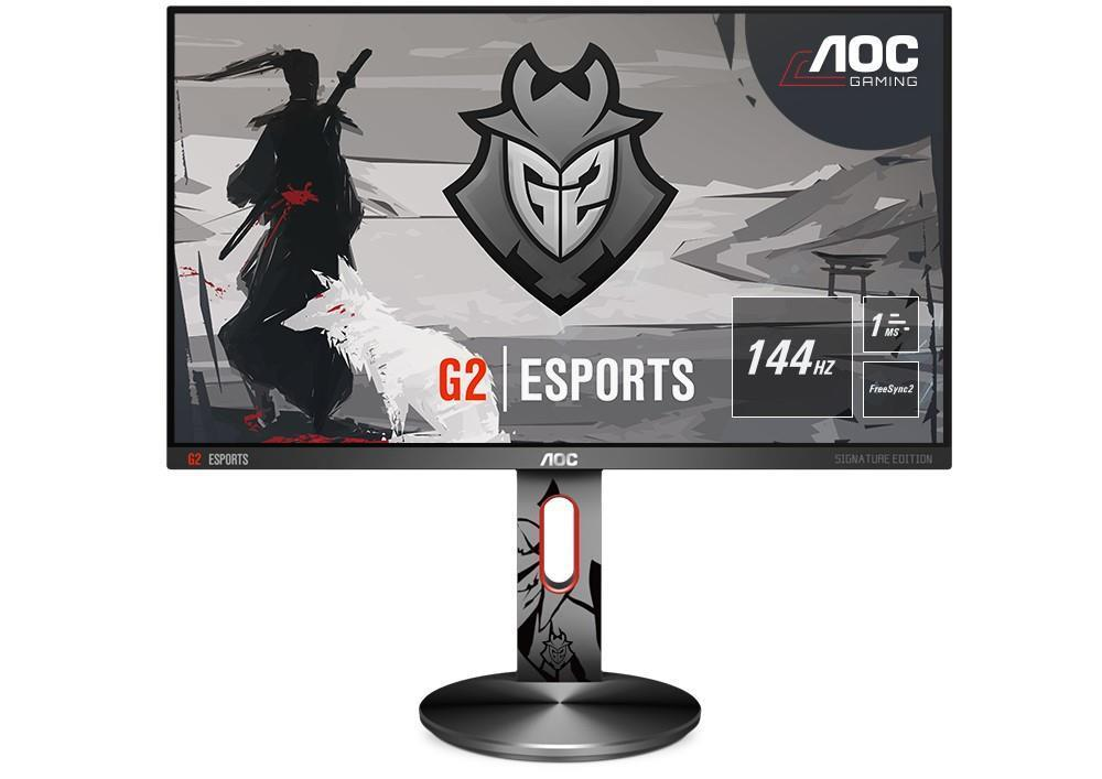 Monitor LED AOC G2590PX/G2 24.5 Full HD 144Hz Negru