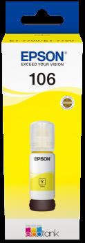 Cartus Inkjet Epson 106 EcoTank Yellow