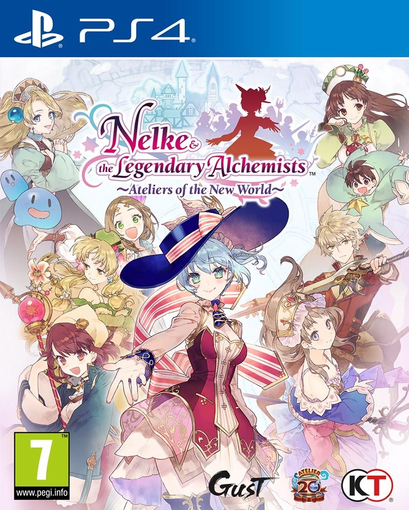 Nelke & The Legendary Alchemists: Ateliers of The New World - PS4