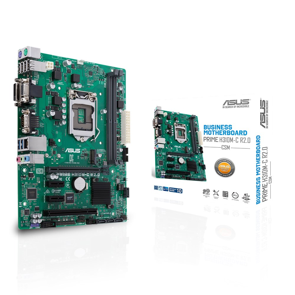 Placa de baza ASUS PRIME H310M-C R2.0/CSM Socket 1151 v2