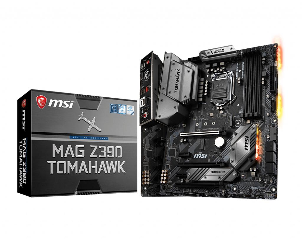 Placa de baza MSI MAG Z390 TOMAHAWK Socket 1151 v2
