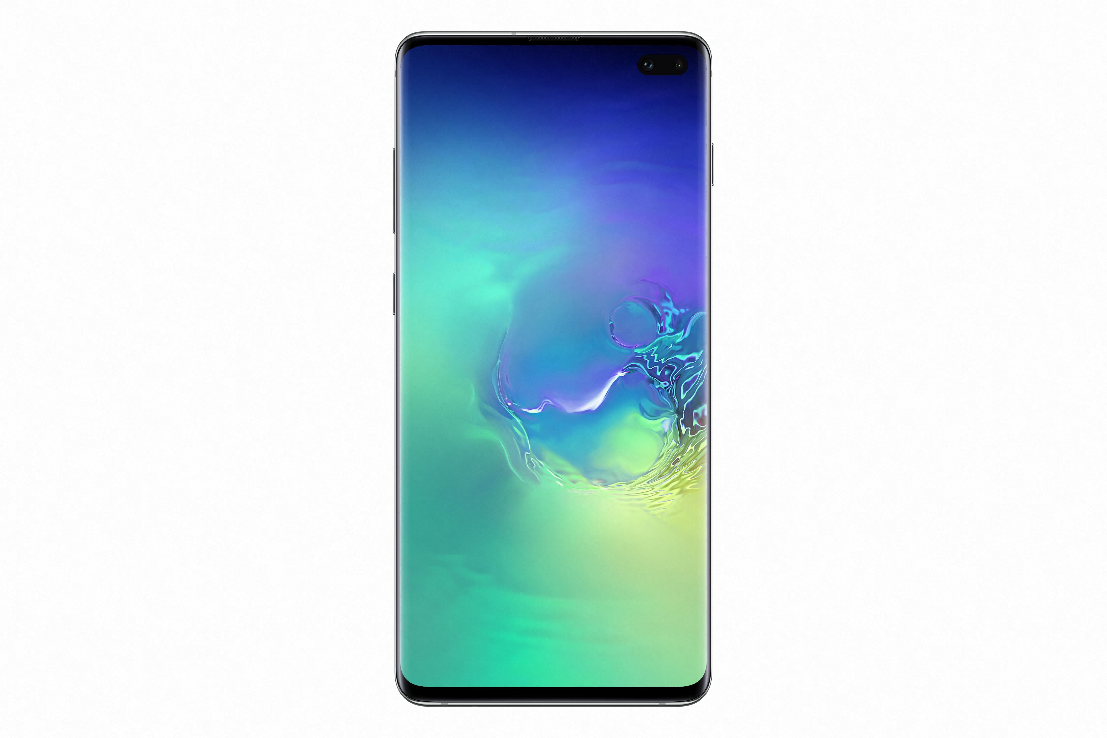 Telefon Mobil Samsung Galaxy S10+ G975 128GB Flash 8GB RAM Dual SIM 4G Teal Green