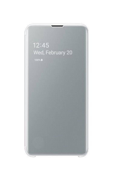 Husa Samsung Clear View Cover pentru Galaxy S10e (G970F) White