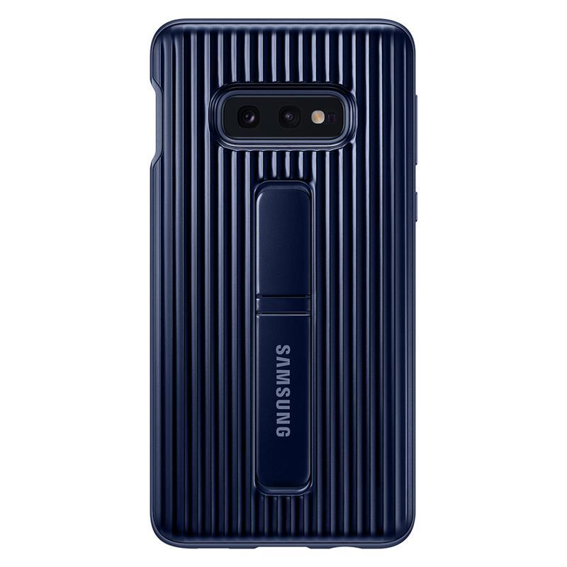 Capac de protectie spate Samsung Protective Standing pentru Galaxy S10e (G970F) Blue