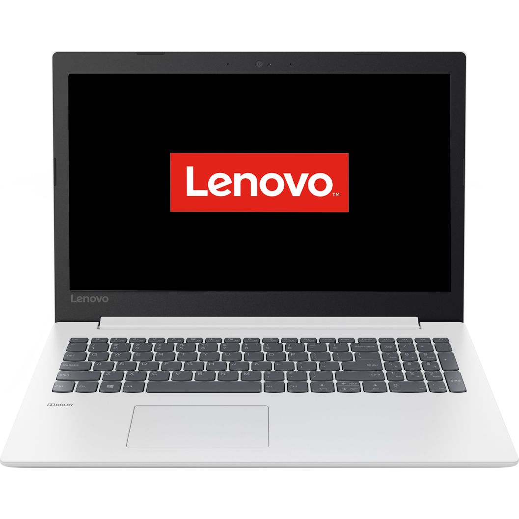 Notebook Lenovo IdeaPad 330 15.6 Full HD Intel Core i3-6006U RAM 8GB SSD 256GB FreeDOS Alb