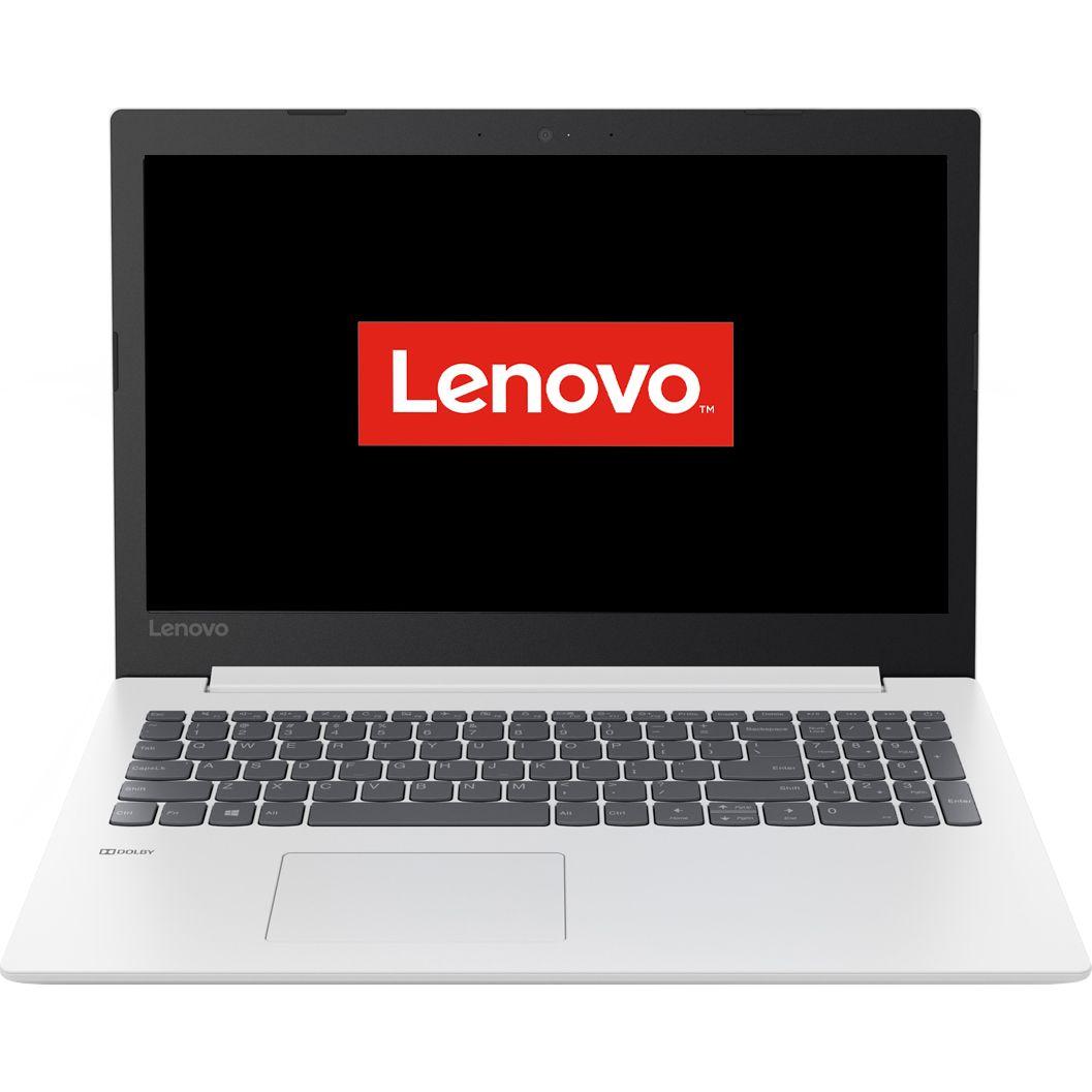 Notebook Lenovo IdeaPad 330 15.6 HD Intel Core i3-6006U RAM 4GB SSD 256GB FreeDOS Alb