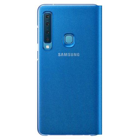 Husa Flip Wallet Samsung pentru Samsung Galaxy A9 2018 (A920) Blue