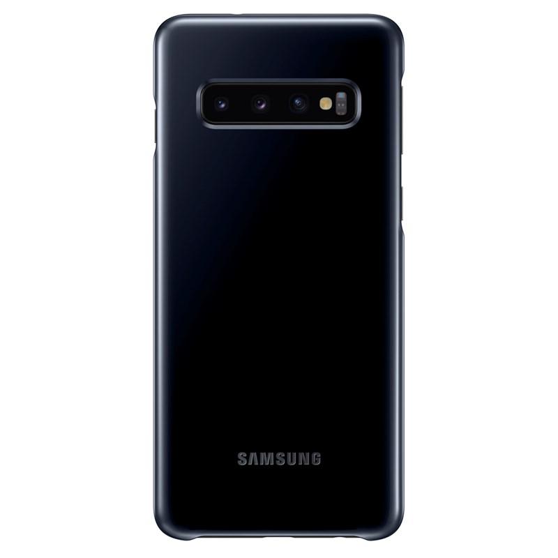 Capac de protectie spate Samsung LED Cover pentru Galaxy S10 (G973F) Black