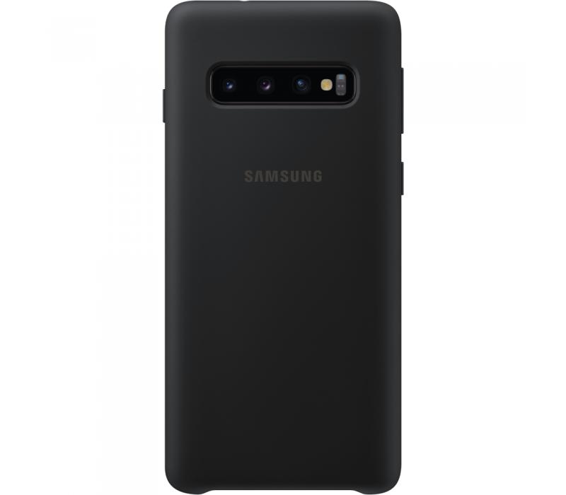 Capac protectie spate Samsung Leather Cover pentru Galaxy S10 (G973F) Black