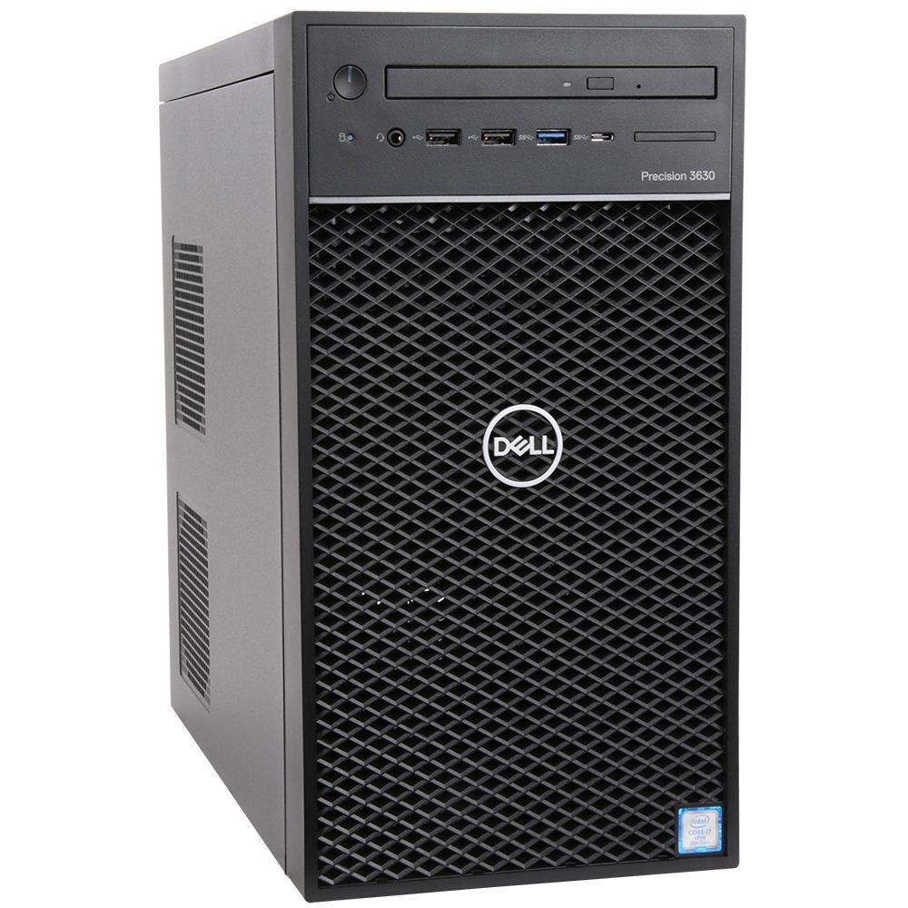 Sistem Brand Dell Precision 3630 Intel Xeon E-2124 P620-2GB RAM 16GB HDD 1TB + SSD 256GB Windows 10 Pro for Workstation