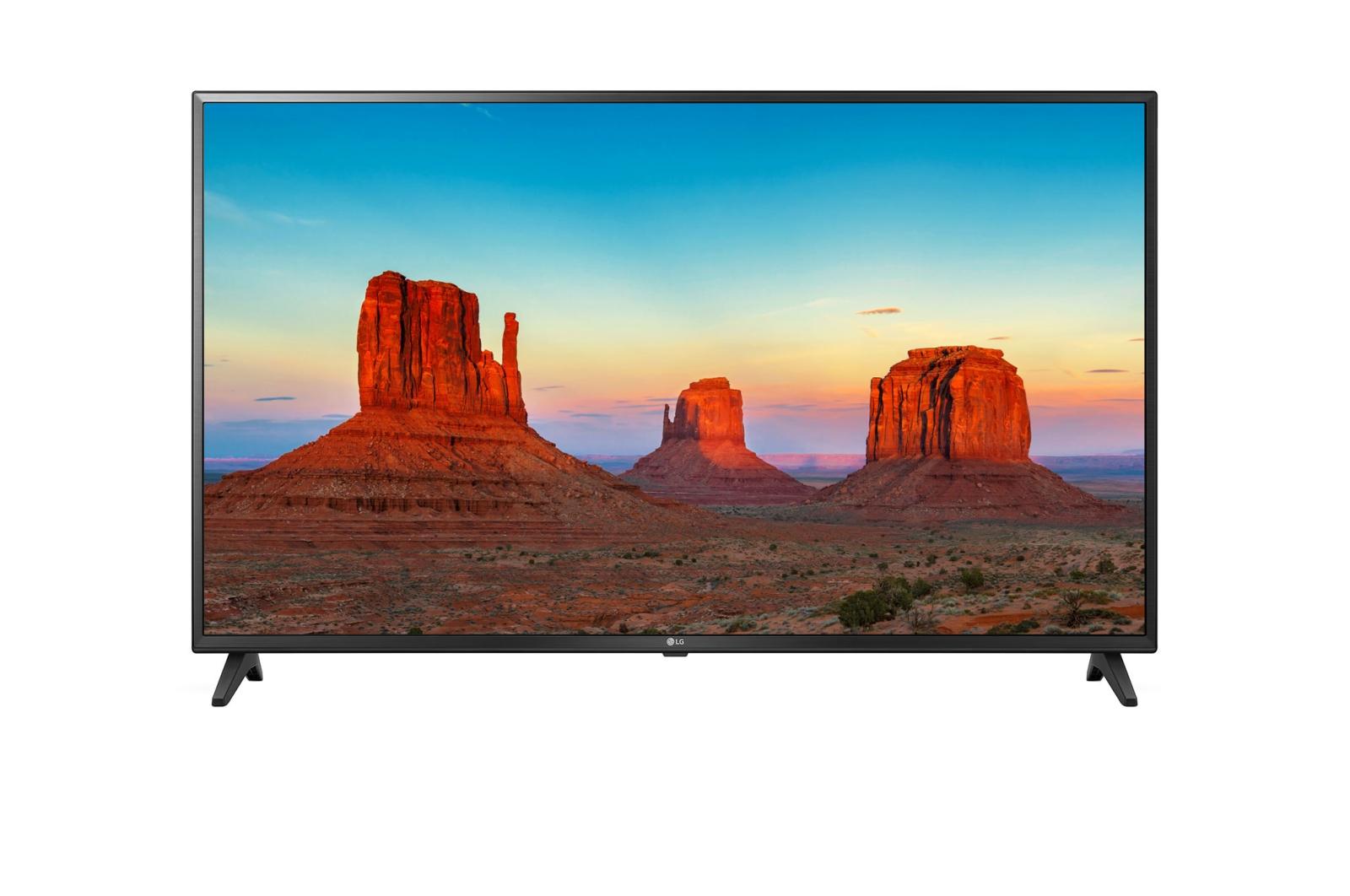 Televizor LED LG Smart TV 43UK6200PLA 108cm 4K Ultra HD Negru