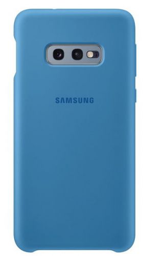 Capac protectie spate Samsung Silicone Cover pentru Galaxy S10e (G970F) Blue