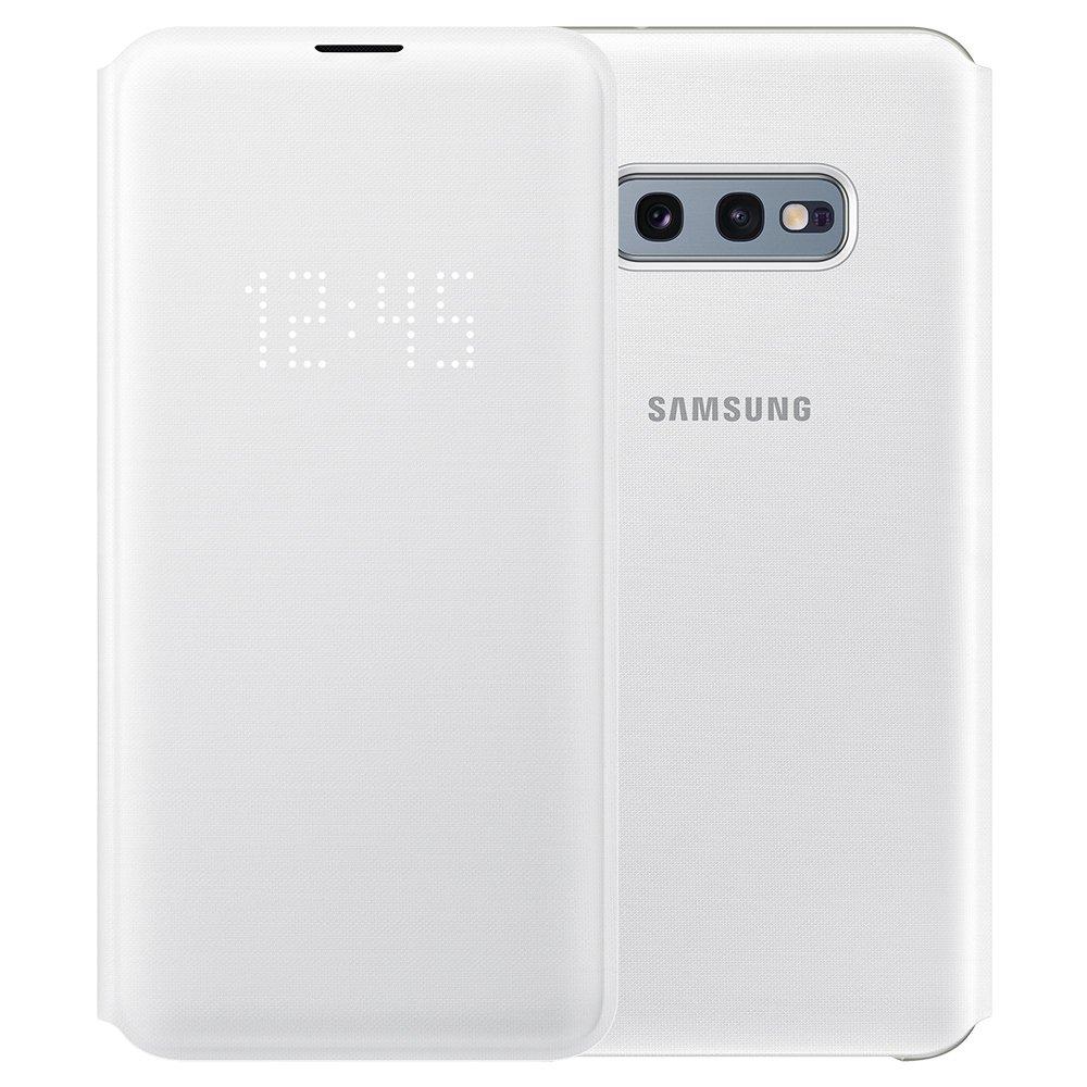 Husa Samsung LED View Cover pentru Galaxy S10e (G970F) White