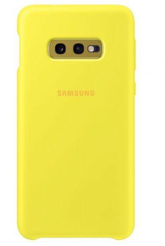 Capac protectie spate Samsung Silicone Cover pentru Galaxy S10e (G970F) Yellow