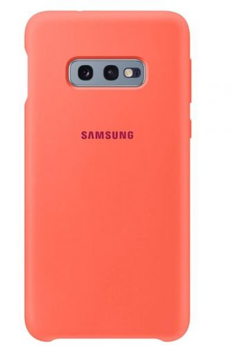 Capac protectie spate Samsung Silicone Cover pentru Galaxy S10e (G970F) Pink