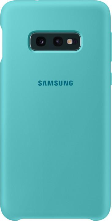 Capac protectie spate Samsung Silicone Cover pentru Galaxy S10e (G970F) Green