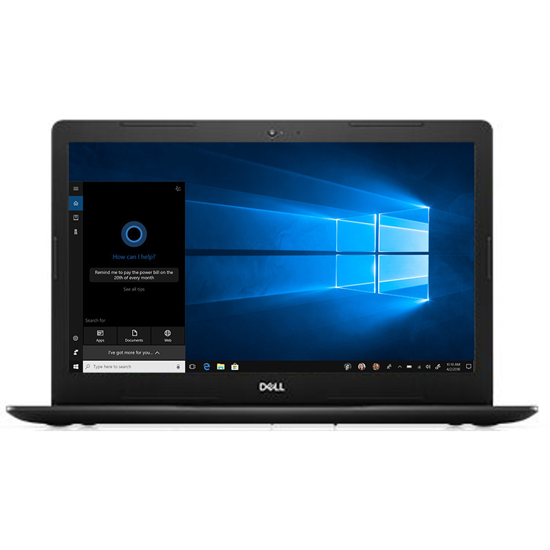 Notebook Dell Vostro 3580 15.6 Full HD Intel Core i3-8145U RAM 4GB SSD 128GB Linux Negru