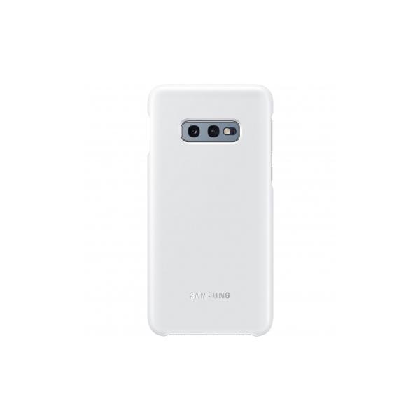 Husa Samsung LED Cover pentru Galaxy S10e (G970F) White