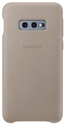 Capac protectie spate Samsung Leather Cover pentru Galaxy S10e (G970F) Grey