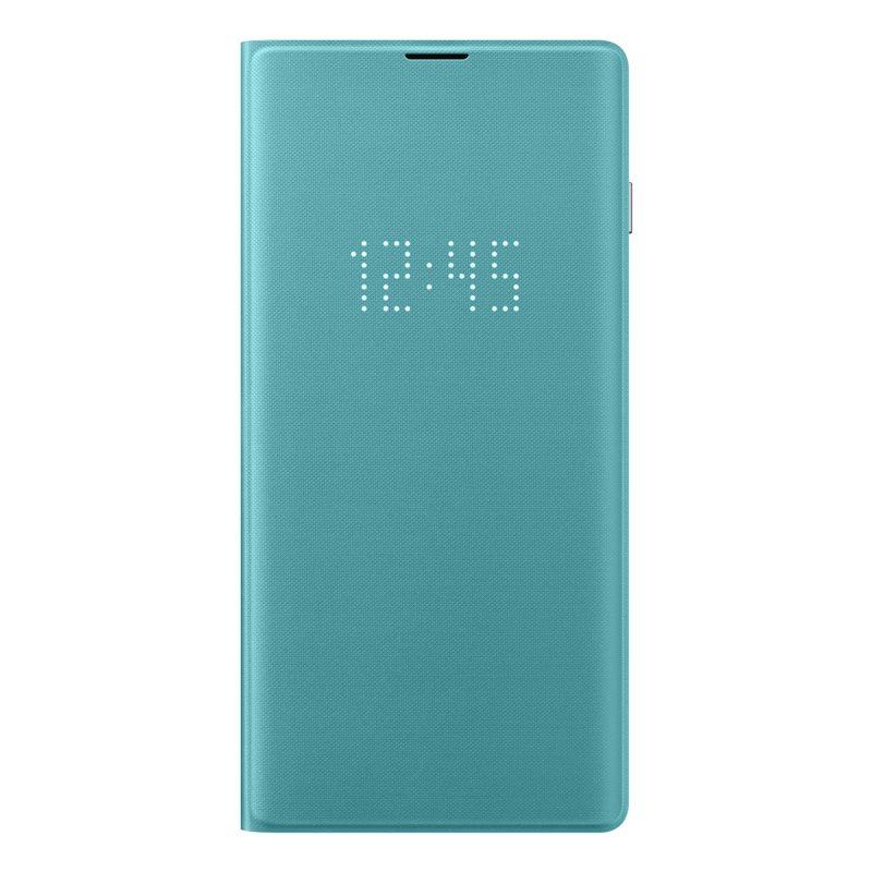 Husa Samsung LED View Cover pentru Galaxy S10 (G973F) Green