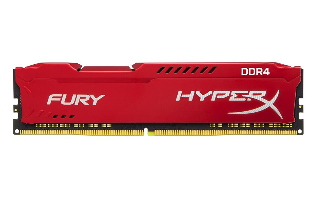 Memorie Desktop Kingston HyperX Fury HX432C18FR2/8 8GB DDR4 3200MHz CL18 Red