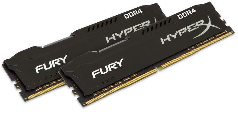 Memorie Desktop Kingston HyperX Fury HX432C18FB2K2/16 2x8GB DDR4 3200MHz CL18 Black