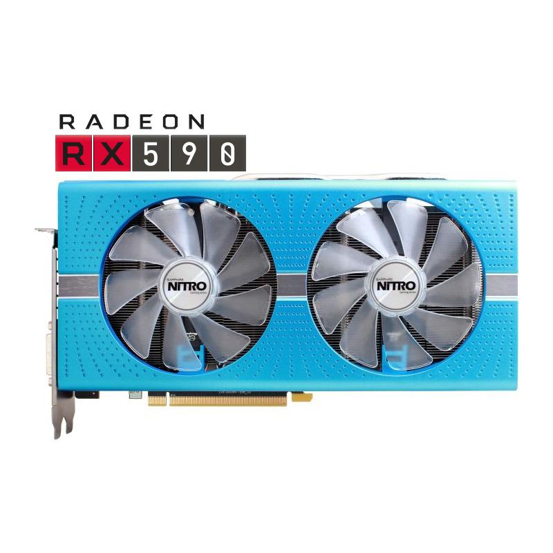 Placa Video Sapphire Radeon RX 590 Nitro+ Special Edition 8GB GDDR5 256 biti