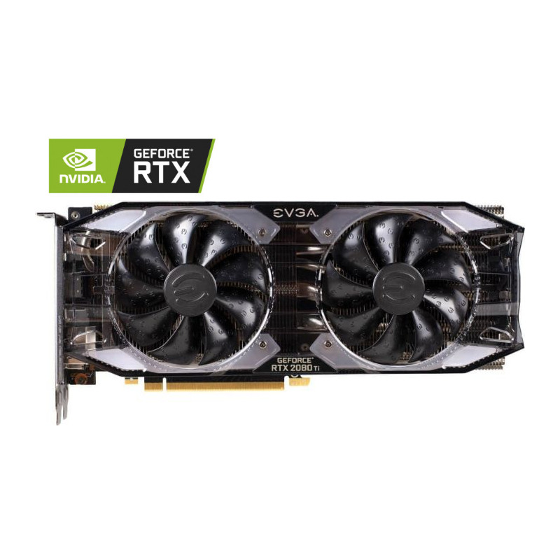 Placa Video EVGA GeForce RTX 2080 Ti XC GAMING 11GB GDDR6 Dual HDB Fans & RGB LED 352 biti