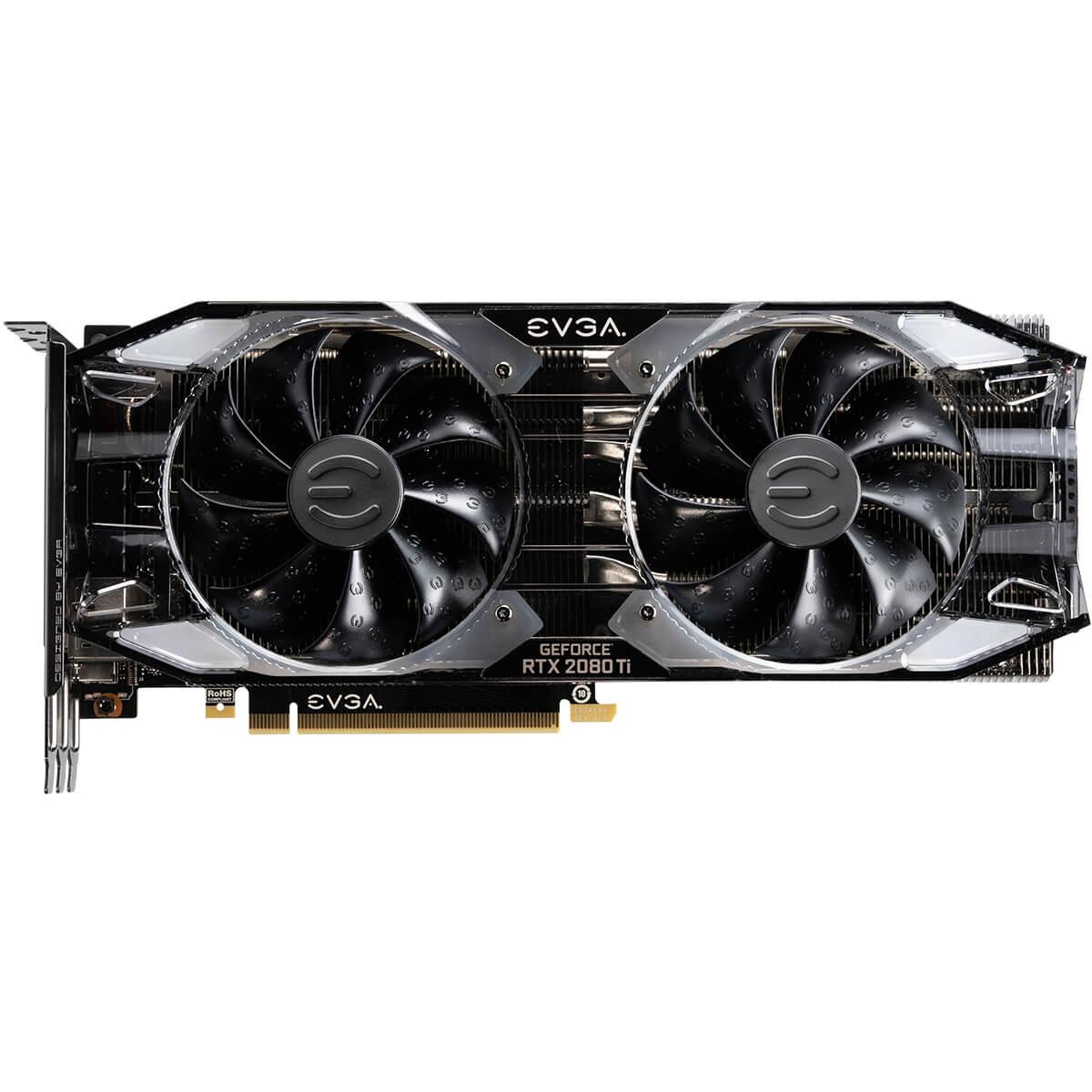 Placa Video EVGA GeForce RTX 2080 Ti XC ULTRA GAMING 11GB GDDR6 Dual HDB Fans & RGB LED 352 biti