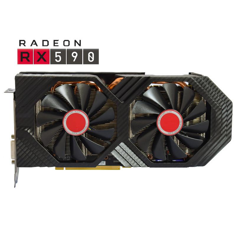 Placa Video XFX AMD Radeon 590 Fatboy OC+ 8GB GDDR5 256 biti
