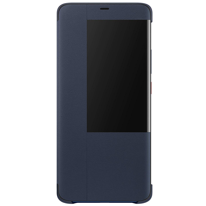 Husa Flip Smart Cover Huawei pentru Mate 20 Pro Deep Blue
