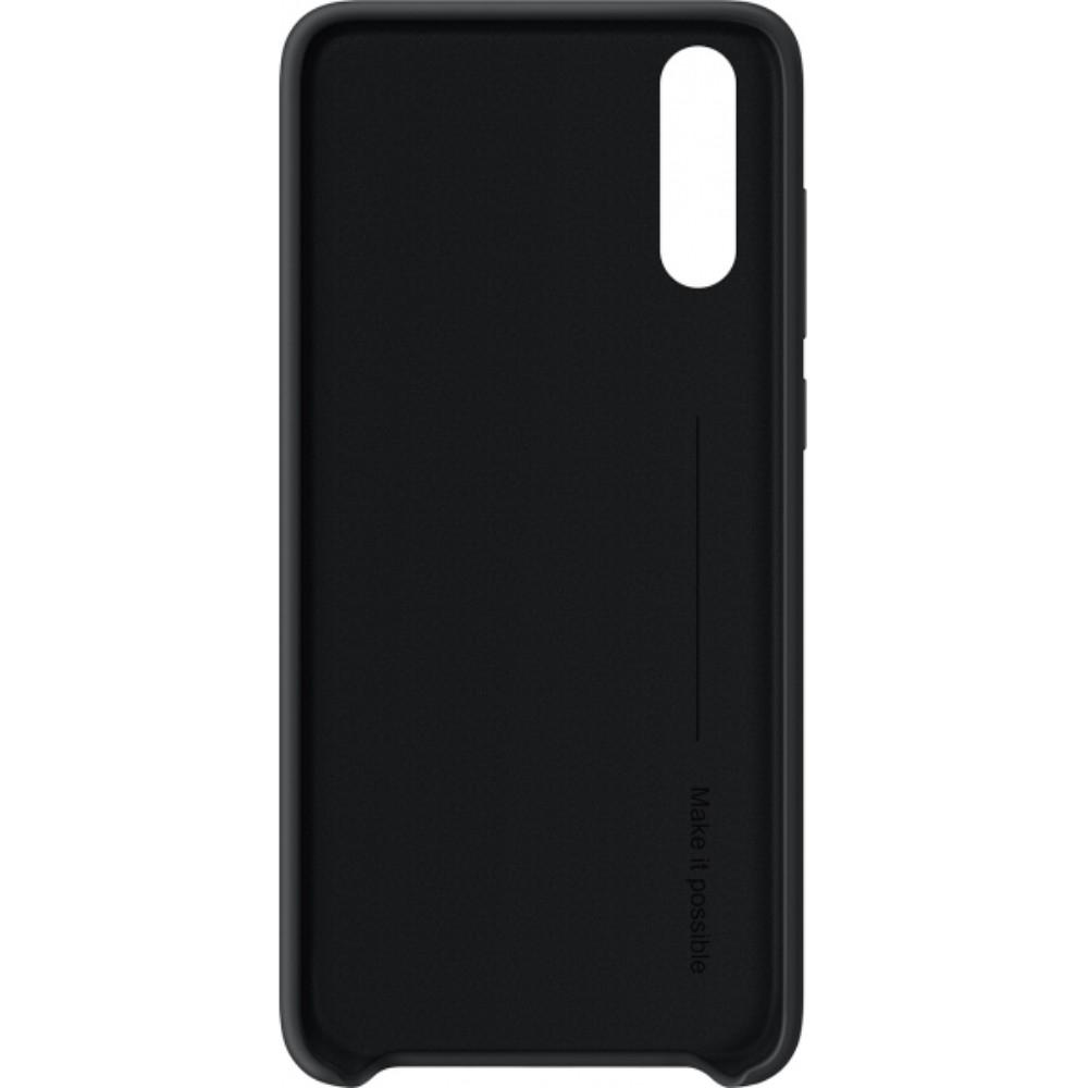 Capac protectie spate Silicone Cover Huawei pentru P20 Black