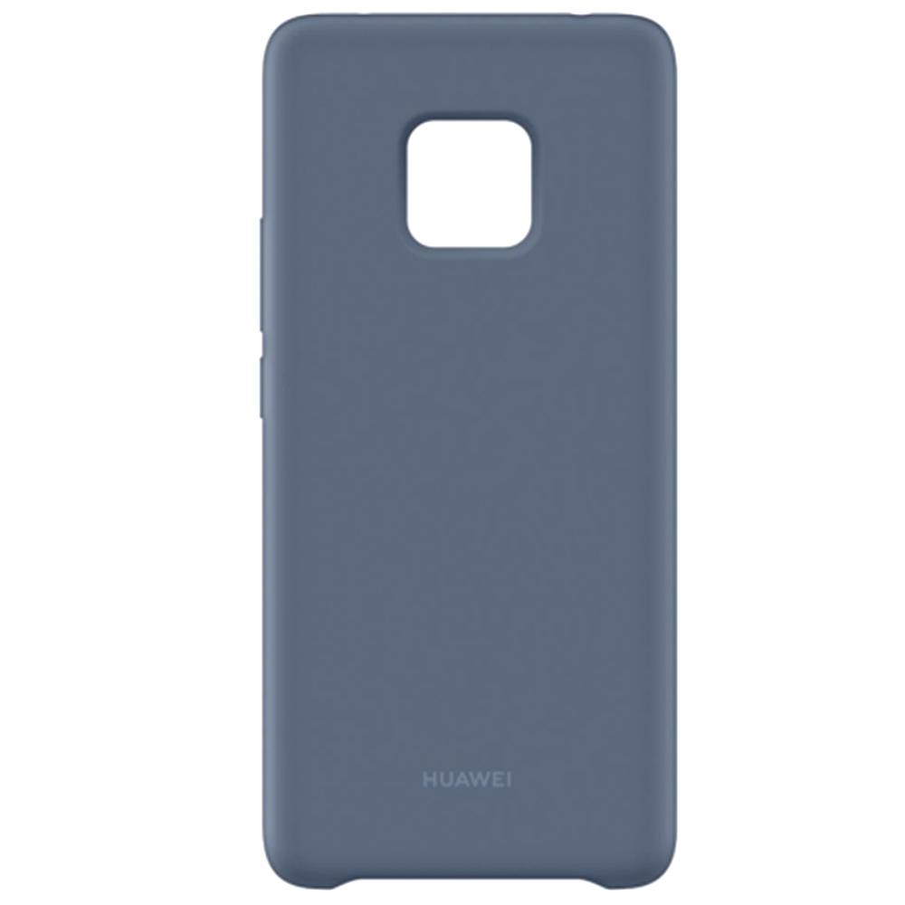 Capac protectie spate Huawei pentru Mate 20 Pro Silicon Light Blue