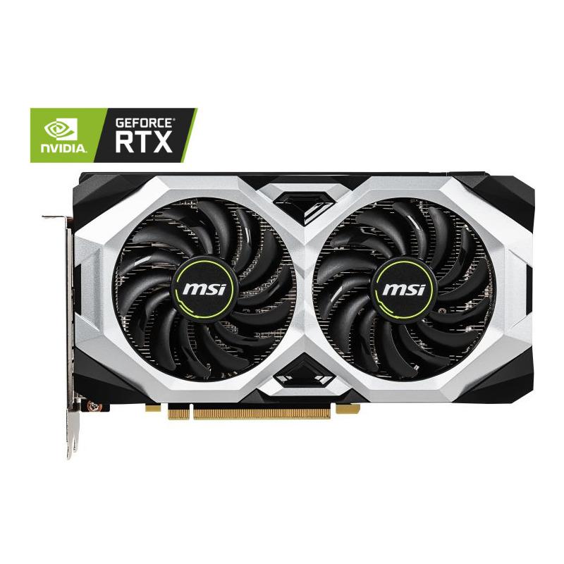 Placa Video MSI GeForce RTX 2060 VENTUS OC 6GB GDDR6 192 biti