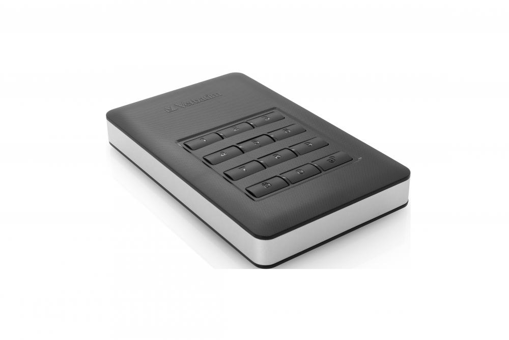 Hard Disk Extern cu Keypad Verbatim Store 'n' Go 2TB USB 3.1