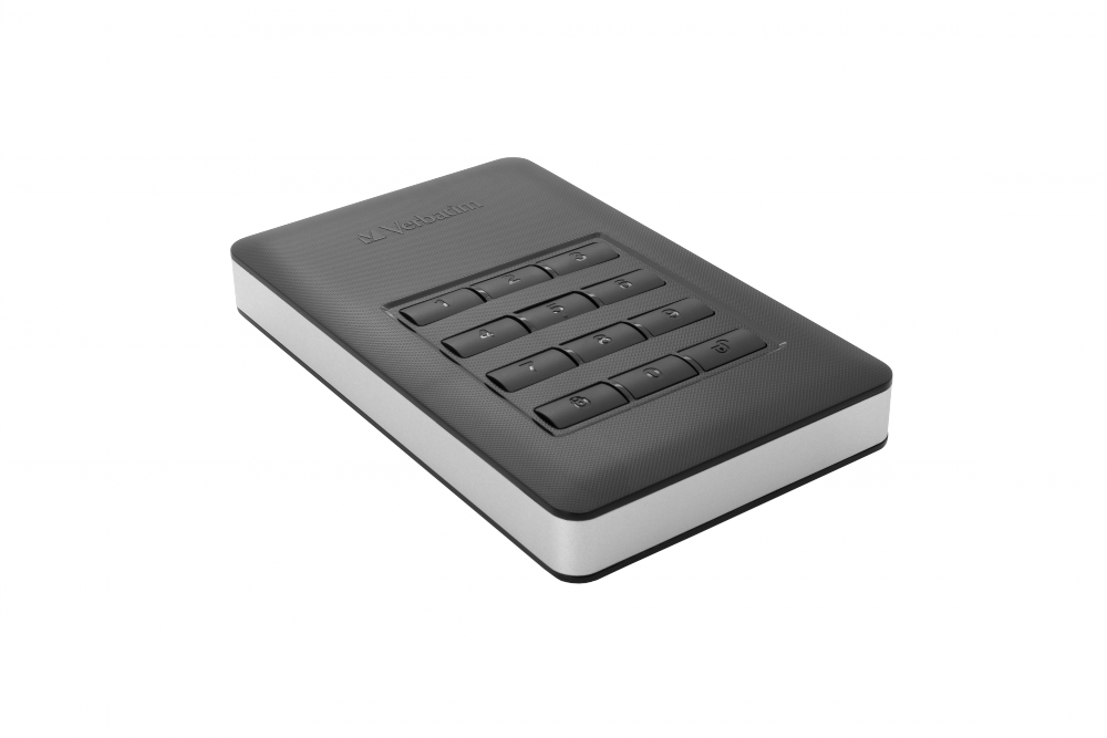 Hard Disk Extern cu Keypad Verbatim Store 'n' Go 1TB USB 3.1