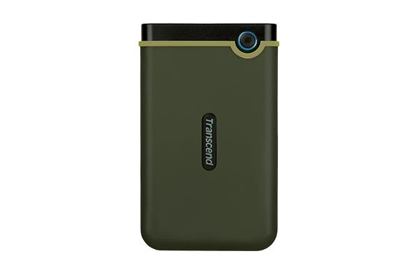 Hard Disk Extern Transcend StoreJet 25M3 2TB USB 3.1 Military Green