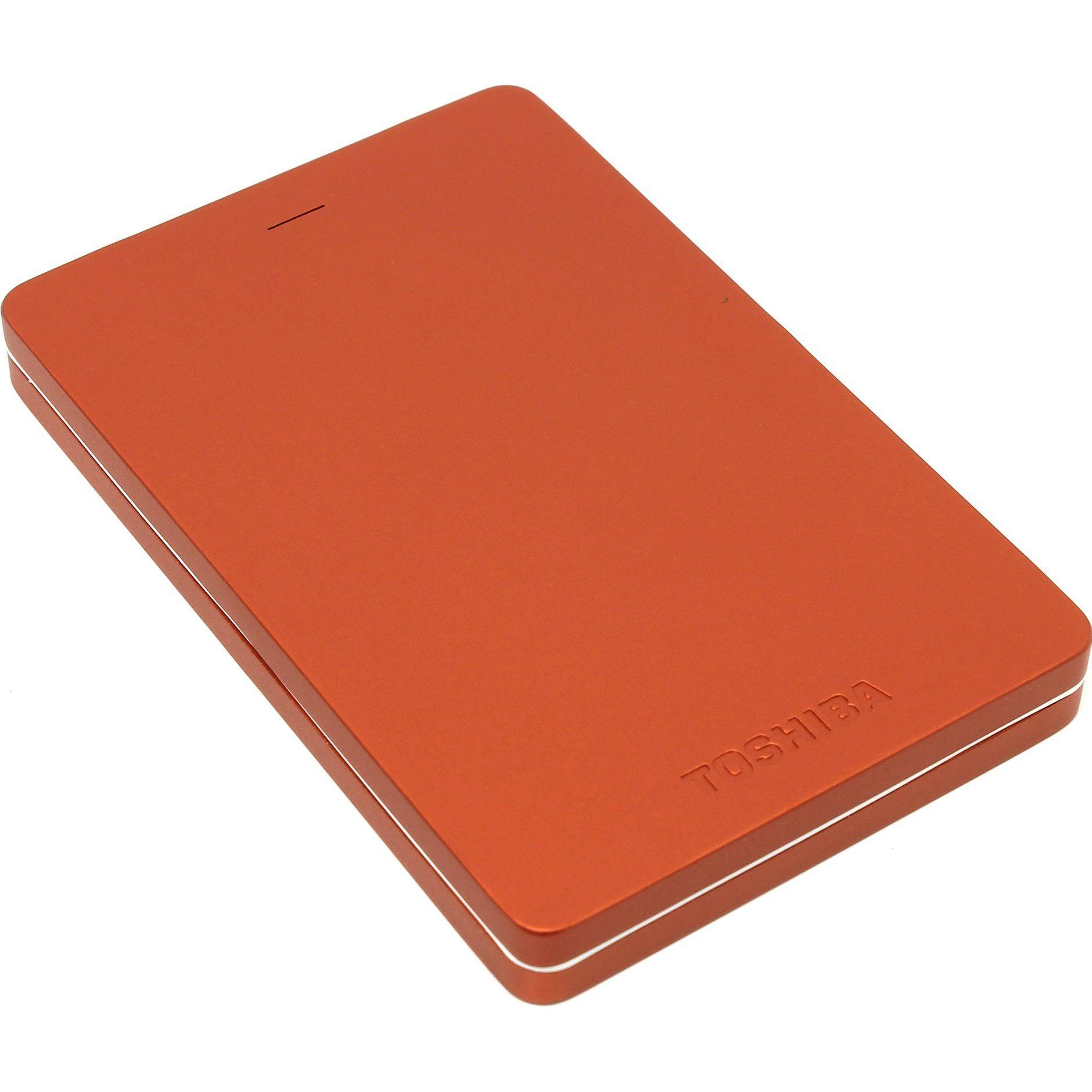 Hard Disk Extern Toshiba Canvio Alu 2TB USB 3.0 Red