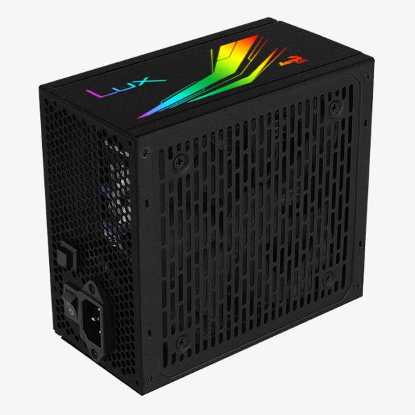 Sursa PC AeroCool LUX RGB 80+ Bronze 550W