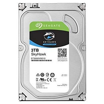 Hard Disk Desktop Seagate SkyHawk 3TB 5400RPM 256MB SATA III