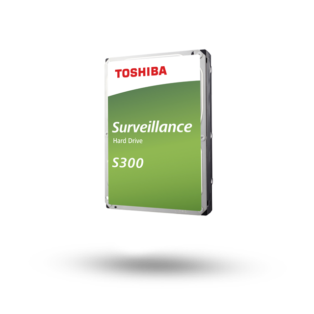 Hard Disk Desktop Toshiba S300 Surveillance 8TB 7200RPM 128MB SATA3