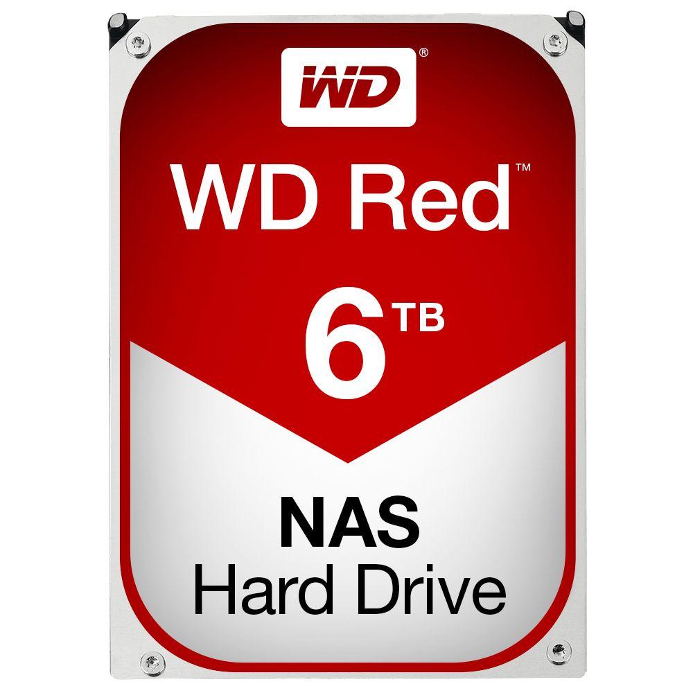 Hard Disk Desktop Western Digital WD Red 6TB SATA3 256MB