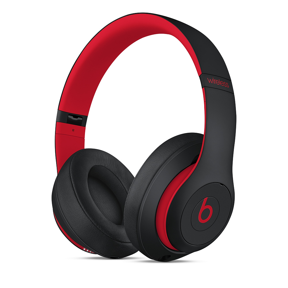 Casti Beats Studio3 Wireless Decade Collection Defiant Black-Red
