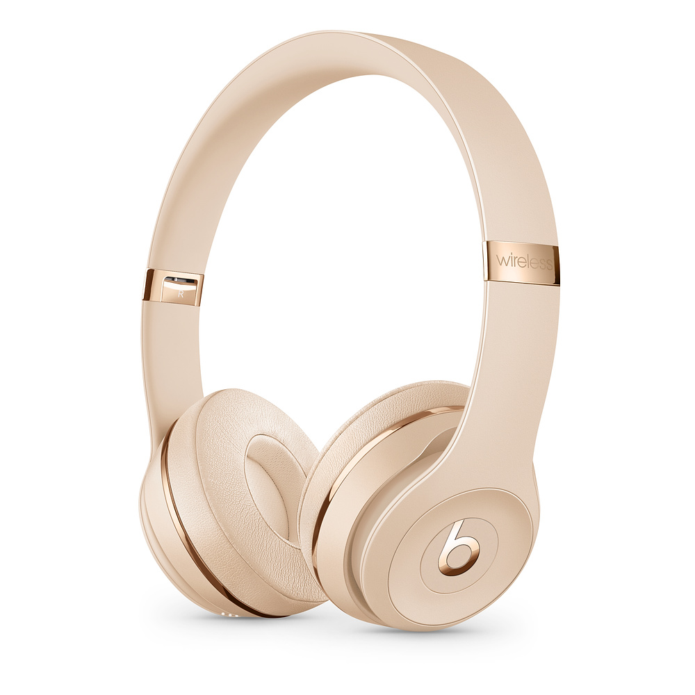 Casti Beats Solo3 Wireless Satin Gold