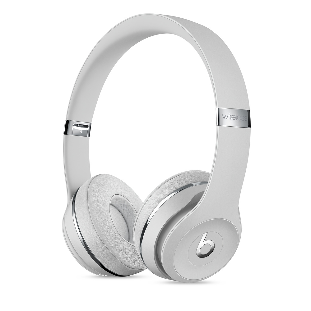 Casti Beats Solo3 Wireless Satin Silver
